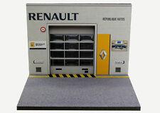 Diorama Présentoir Renault République Autos - 1/43ème - #43-2-a-a-081