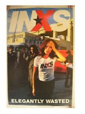 INXS Poster Commercial Elegantly Wasted