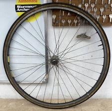 Vintage Front Bicycle Wheel 700c Mavic MA40 Rim Sachs Hub #3575
