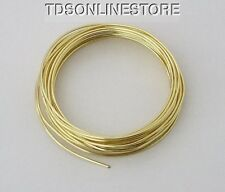 16GA Beadsmith Champagne Gold Color Non Tarnish  Wire 5 Yards