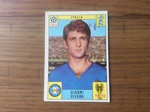 Panini Mexico 1970 Gianni Rivera Italy  red back unused original sticker