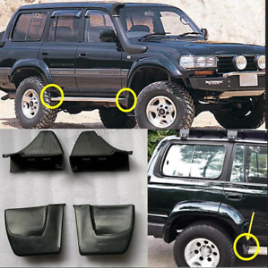 For Land Cruiser LC80 91-97 4pcs Nerf Bars Running Boards Ends Protection Cap A