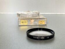 Vintage Hoya  48mm + 3 Close up  Filter, & Keeper