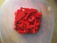 LEGO 400GRAMS OF RED LEGO.GOOD CONDITION