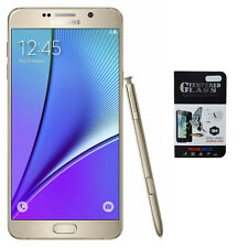NEW Samsung Galaxy Note 5 N920A Gold AT&T GSM Network Unlocked T-Mobile & More