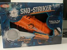 Brand New Ideal Sno Striker Snowball Launcher  - Ages 8+