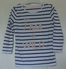 New 100% cotton long sleeve Top 12-18 months