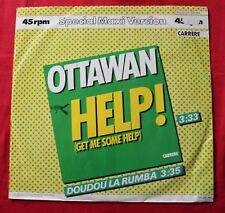 Ottawan, help (get me some help) / doudo la rumba, Maxi Vinyl  import