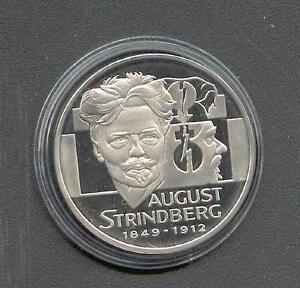 20 ECU  Schweden  August Strindberg  1996  Silber  PP