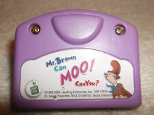 LEAP FROG LITTLE TOUCH MR. BROWN CAN MOO! CAN YOU? REPLACEMENT CARTRIDGE 2004