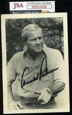 Arnold Palmer JSA Loa Autograph Hand Signed 4x6 Photo