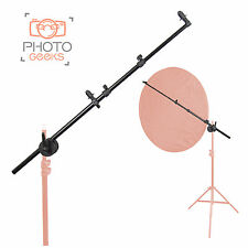 Photography Studio Lighting Reflector Boom Arm Holder & Lock Nut - Light Bracket