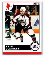 (HCW) 2010-11 Score Glossy #153 Kyle Cumiskey Avalanche Mint
