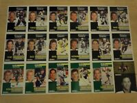 1991-92 Pinnacle French BUFFALO SABRES Team Set - 18 Cards - Includes 5 Rookies