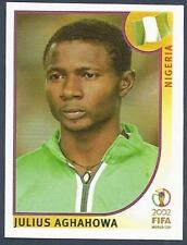 PANINI KOREA/JAPAN WORLD CUP 2002- #420-NIGERIA-JULIUS AGHAHOWA