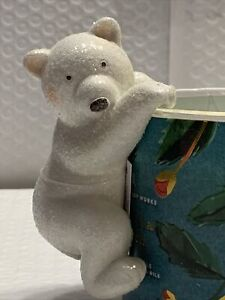 Bath And Body Works Polar Bear 3-wick Candle Topper