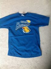 Vintage Defunct Chicago Hounds Uhl Minor League Hockey T Shirt Youth Large