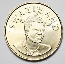 SWAZILAND : 5 EMALANGENI 2008 40ème ANNIVERSAIRE DE L'INDEPENDANCE