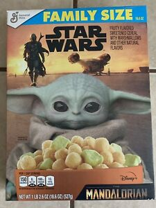 Family Size Star Wars Limited Edition Baby Yoda The Mandalorian Breakfast Cereal