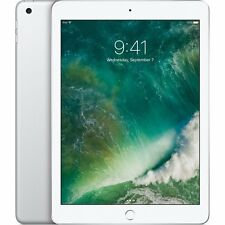 NEW Apple iPad with WiFi, 32GB, Silver, 2017 Model MP2G2LL/A Sealed USA Warranty
