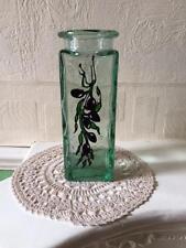 Green Contemporary Original Art Glass