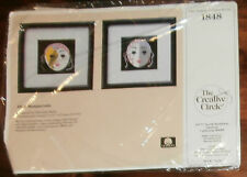 "Creative Circle #1848 Masquerade 2 Pictures Unopened 5"" x 5"" Embroidery Kit"