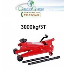 Cric/Sollevatore/Martinetto idraulico a carrello 3T/3000Kg con pedale