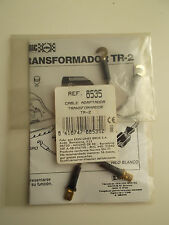 SCALEXTRIC Ref. 8535 Cable adaptador transformador TR-2 EXIN