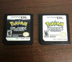 TOP Pokemon White Version (Nintendo DS 3DS 2DS) USA Version 100% new Games