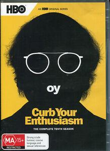 Curb Your Enthusiasm Complete Tenth Season 10  DVD NEW Region 4