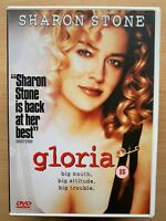 Gloria DVD 1999 Gangster Moll + Orphan Crime Drama Remake with Sharon Stone