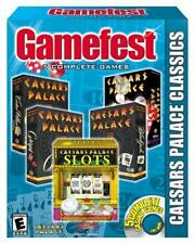 Gamefest: Caesars Palace Classics (5 Games) (2PC-CDs, 1997) - NEW CDs in SLEEVE