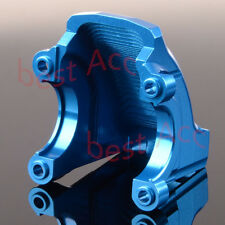 Front / Rear Gearbox Cover Aluminum Blue For Rc 1/5 Traxxas X-Maxx 77076 Txm012A