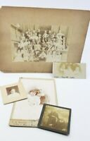 Antique Victorian Elementary School Class Photo Picture Kids Children + More