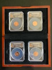 A Lot Of 4 ANACS 2009-P Inaugural Release Ceremony One Cent Liberty Coin