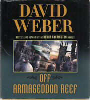 David Weber Off Armageddon Reef 25CD Audio Book Unabridged Safehold 1 FASTPOST