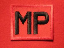 BRITISH ARMY MILITARY POLICE MP TRF BADGE RED