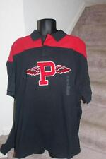 New Polo Ralph Lauren Mens Big & Tall Rugby P Polo Shirt Black Red Size 1XB