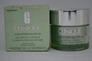 Clinique Superdefense SPF 25 Age Defense Moisturizer ~choose skin type volume~