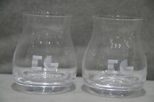 Pair Of (2) Edinburgh Gin The Glencairn Mixer Glass 35cl 350ml Gift New 2019