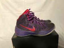 Nike Hyperdunk size 9 Purple/Red Barely worn