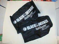 [B&D] [5101539-00] (2) Black & Decker AV1600B PAV1200W Car Vacuum Storage Bag