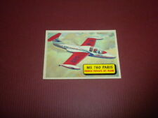 PLANES trading card #20 TOPPS 1957 Army Navy Air Force AIRPLANES OF THE WORLD