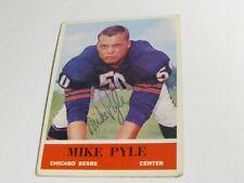 Mike Pyle Autographed Card JSA Auction Certified