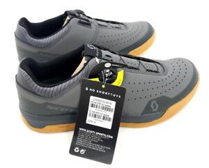 Scott Sport Volt BOA Flat Platform Cycling Shoes Gray EU 41 / US 8