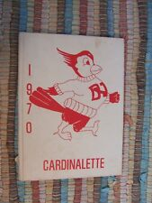 1970 Cardinalette - Yearbook Annual - De Valle Junior JR High School - Texas