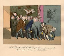 MŒURS ADMINISTRATIVES en 1828 Henri MONNIER 16 Gravures