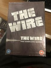 The Wire - Series 1-5 - Complete (DVD, 2008, 24-Disc Set, Box Set) Mint
