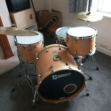 More details for premier artist kit in superb condition with cases ,hardware and cymbals.