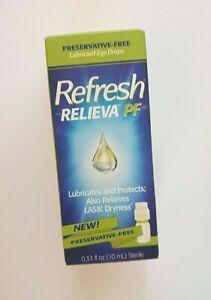 Refresh Relieva PF (Preservative-Free) - Eye Drops (10 mL - .33 fl oz) EXP:01/22